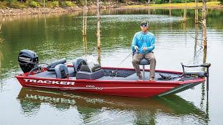 3. TRACKER Pro 160 Aluminum Fishing Boat