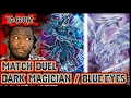 "Download Video Yugioh - MATCH DUEL: Dark Magician vs Blue Eyes White Dragon | Yugi: ""It's Not Over..."""