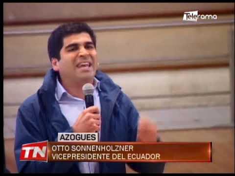 Gobierno invertirá USD 2 millones y medio para obras en la provincia Cañar