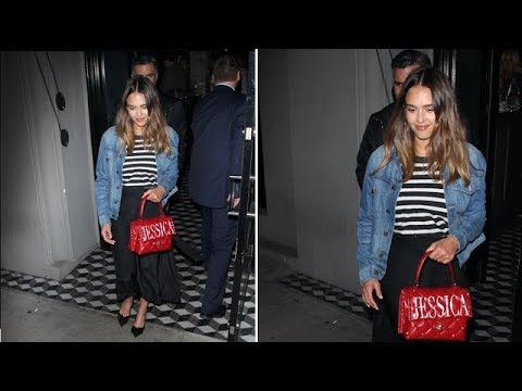 Jessica Alba And Cash Warren Show No Love For The Cameras On Date Night