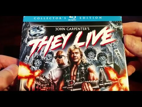 Unboxing - They Live Blu-Ray