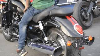 9. TRIUMPH ROCKET III ROADSTER AT INDIA SPEED WEEK KOLKATA 2016