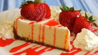 How To Make Easy Homemade New York Style Cheesecake - No Fuss Recipe