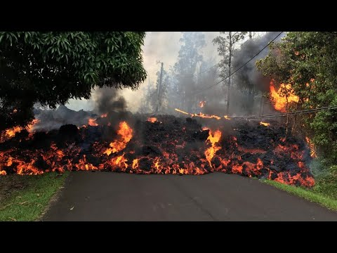 Lava continues to swallow up homes in Hawaii