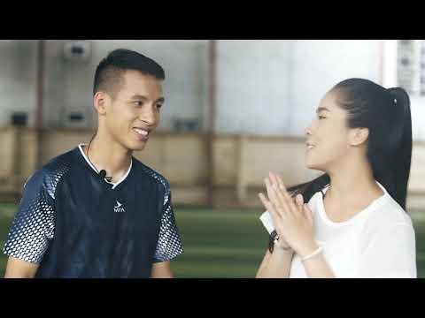 Học kỹ năng đá bóng cùng Đỗ Hùng Dũng đại sứ thương hiệu Mira
