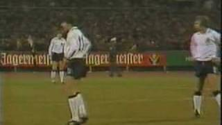Hansi Müller im Länderspiel gegen Malta (1980)