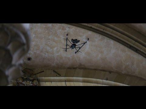 Drohneninspektion & -vermessung eines Doms.