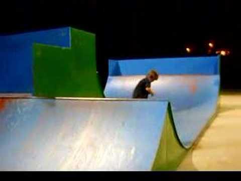 me skating mini at the cedar rapids skatepark in iowa