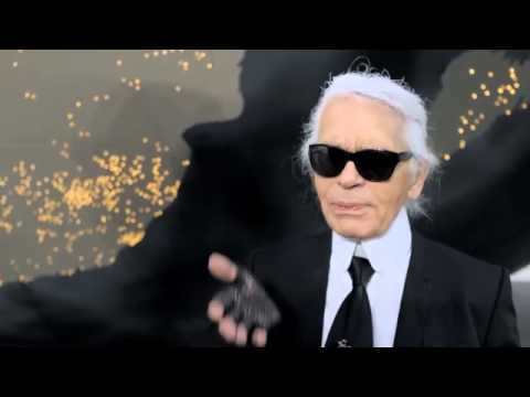 Chanel Ready-to-Wear Fall-Winter 2013/2014 Karl Lagerfeld Interview видео