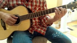 Sunshine Superman - Donovan guitar lesson