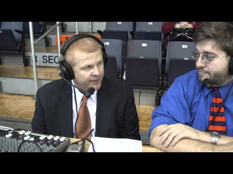 Chuck Benson post-game interview Milligan 12-15-12