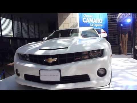 Chevrolet Camaro SS 2014 video review Caracteristicas venta versión Colombia