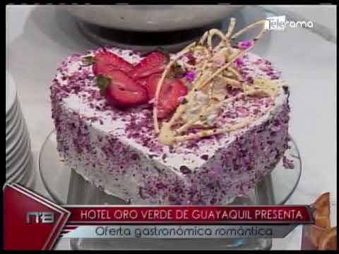 Hotel Oro Verde de Guayaquil presenta oferta gastronómica romántica
