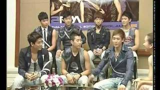 2PM MTV Thailand  Interview 2009 Part 1/2