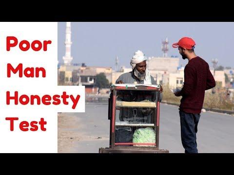 POOR MAN HONESTY TEST | Unbelievable