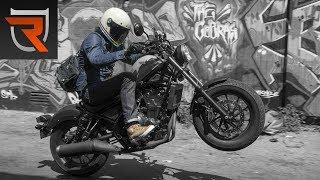 2. 2017 Honda Rebel 500 Second Ride Review Video | Riders Domain