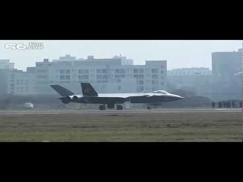 China xx - The video is squashed a bit vertically. J-20/J-XX China Stealth Fighter New Video 5th Gen.