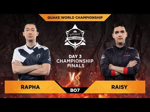 Rapha vs Raisy - Quake World Championship 2020 - Day 3 - GRAND FINAL