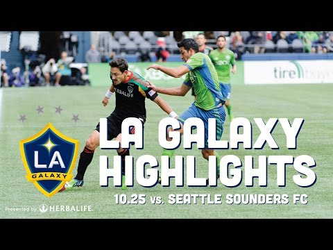 Video: LA Galaxy at Seattle Sounders FC | October 25, 2014 | Highlights