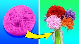 Video 37 CUTE AND WARM YARN DIYS FOR THE WHOLE FAMILY MP3, 3GP, MP4, WEBM, AVI, FLV Maret 2019