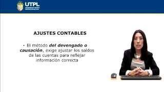 UTPL AJUSTES CONTABLES [(CONTABILIAD Y AUDITORÍA)(CONTABILIDAD GENERAL II)]