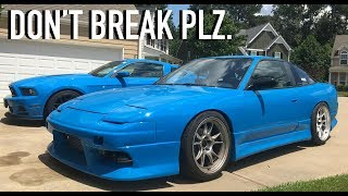 Subscribe to my channel!- http://bit.ly/2jH1GkMStart your free trial today, at http://www.squarespace.com/dude to get 10% off your first purchase!For this in depth vlogity vlog/ partial review of my 2jz 240sx, we go on a little cruise to make sure everything is running right before finally parking it for a few days before the shoot in the Georgia mountains! With a lot of planning around the shoot, I couldn't be more excited about finally achieving this. Let's hope we don't jinx it! Thanks for watching! 2nd channel!- https://www.youtube.com/channel/UCN4-H8Kzio2pQXuMEEACy1gFollow me on wheelwell for QNA questions!  https://wheelwell.com/profile/559b2512c75d6981233bec40/garage/Key Tags- https://motoloot.com/collections/that-dude-in-blue-lootNew t-shirts are out as well! MOAR BELOW.New shirts!- https://shop.studio71us.com/collections/david-pattersonSnapchat!- DJP4Twitter- @thatdudeinblueFacebook- https://www.facebook.com/thatdudeinblue/?fref=tsNew decals!- http://spinnywhoosh.com/thatdudeinblue/Stay awesome. Drift into blue squad and subscribe!