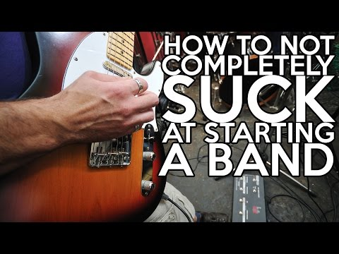 How to Not COMPLETELY SUCK at Starting a Band   SpectreSoundStudios
