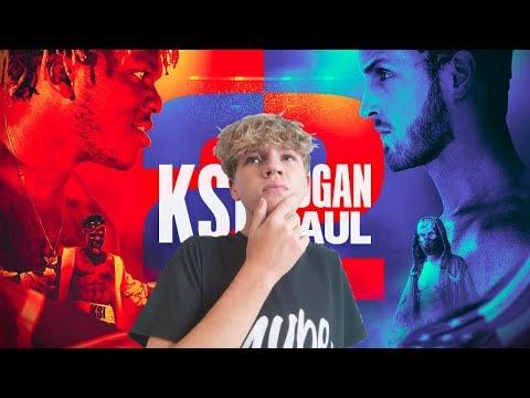KSI VS LOGAN PAUL 2 FIGHT PREDICTION