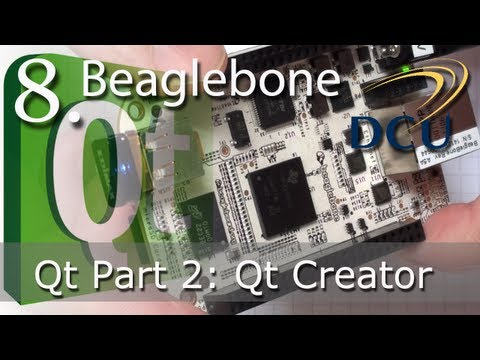 QT - This is the second video in a set of three on Qt application development on the Beaglebone or any other embedded Linux device. The first video introduces the...