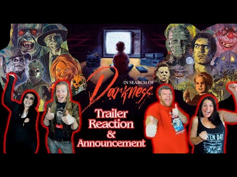"""""""In Search of Darkness"""" 80's Horror Documentary Announcement & Trailer Reaction - The Horror Show"""