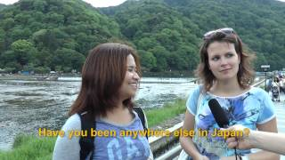 Travelers' Voice of Kyoto:ARASHIYAMA Area Interview 005