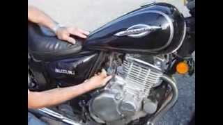 10. idle speed adjusment for motorcycle suzuki gz250