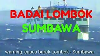 Video Gempa badai diselat Lombok Sumbawa MP3, 3GP, MP4, WEBM, AVI, FLV Desember 2018