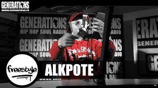 Alkpote - Freestyle Prod by Dj Weedim (Live des studios de Generations)