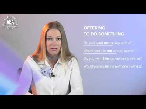 How to Offer to Do Something in English - Learn English Grammar