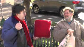 Video of Kevin Meaney in the streets of Tarrytown, New York the day of his Christmas Show. The video was played during his show at the Tarrytown Music Hall.
