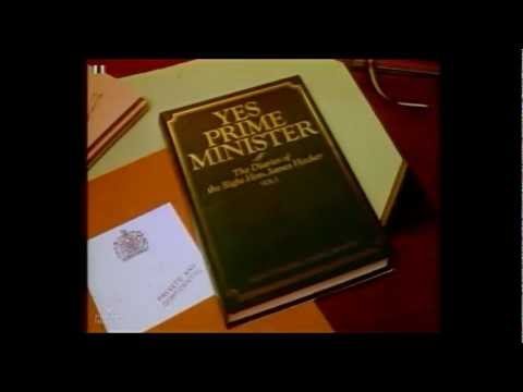 End of Yes Prime Minister into BBC 9 O'Clock News | BBC1 11/11/1986