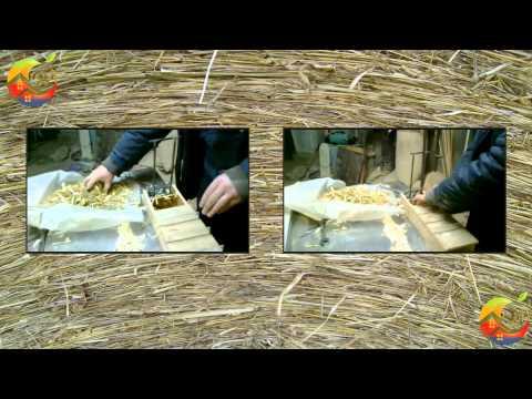 Разработка тестовой модели машины для прессования соломы в панели