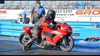 10. My First 8 Second Pass!! 2006 Kawasaki ZX14