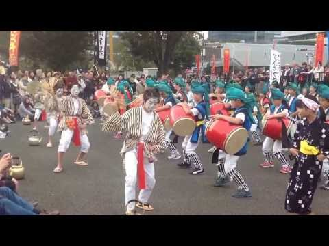 2013 中野チャランケ祭り 和光鶴川小学校 和光小学校 6