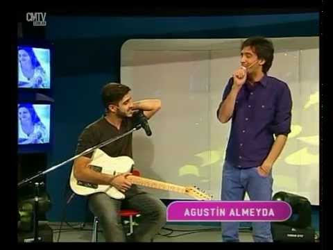 Agustin Almeyda video Entrevista CM + Acústicos - Estudio CM - Agosto 2015
