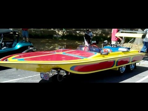 Drag Boat Car