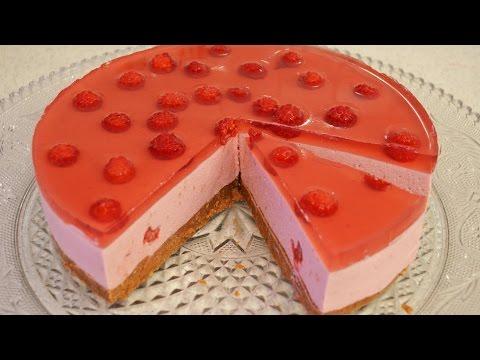 Творожные торты без выпечки из печенья