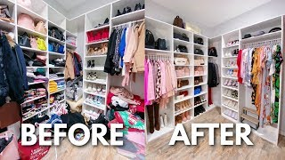 ORGANIZE MY CLOSET WITH ME | SPRING CLEANING 2020 by ThatsHeart