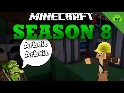 ARBEIT ARBEIT «» Minecraft Season 8 # 33 | HD