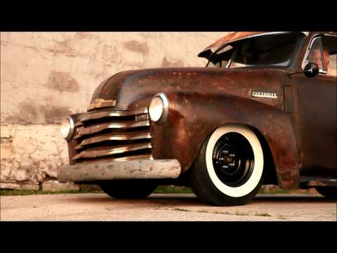 1950 Chevrolet Pickup Patina Shop Truck, Air Bagged, Air Ride,  and FOR SALE