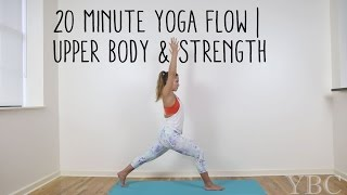Video 20 Minute Yoga Flow | Upper Body & Strength MP3, 3GP, MP4, WEBM, AVI, FLV Maret 2018
