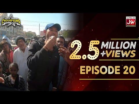 Champions With Waqar Zaka Episode 20   Champions BOL House   Waqar Zaka Show