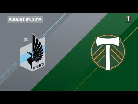 Video: Minnesota United FC vs. Portland Timbers | HIGHLIGHTS - August 7, 2019