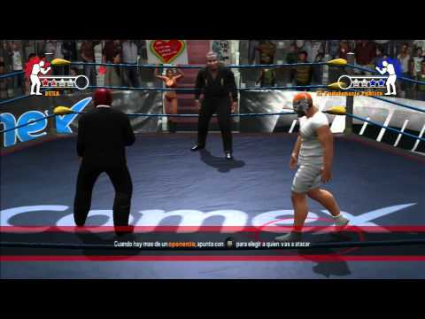 AAA Lucha Libre : Heroes of the Ring PSP